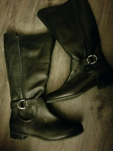 Womens 9.5w Riding Boots