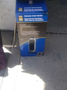 Power Fist Ceramic Tower Heater - Never Used