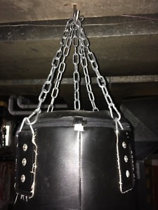 SOLID LEATHER PUNCHING BAG