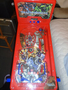 Transformers pinball $40  Size 29 ½ X 14 ¾ inches , High 1 - 30