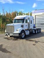 2012 freightliner coronado sd  tri-drive