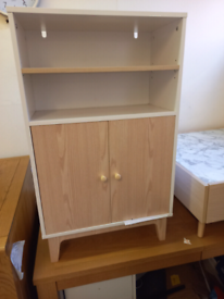Sideboard Storage with 2 doors only £60. Assembled ex display. RBW Cle