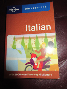 Lonely Planet - Italian Phrasebook A must for travel