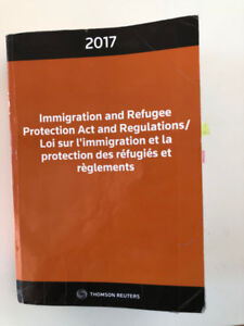 Immigration and Refugee Protection Act and Regulations 2017
