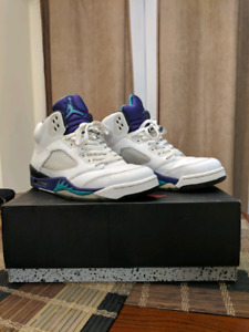 Jordan retro 5 grapes 2013
