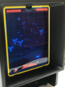 1983 VECTREX w 5 Game System Mine Storm 3000-C1 GCE RARE Overlay