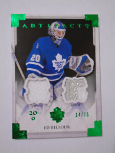 2013-14 UPPER DECK ARTIFACTS, ED BELFOUR, HOCKEY CARD!!!