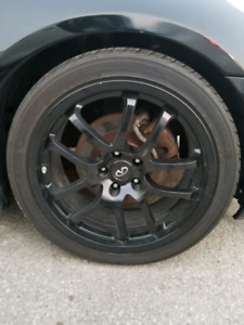 "19"" Rays Forged Infiniti G35 Wheels and Tires"