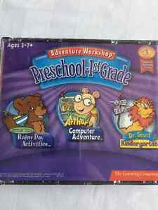 Preschool to 1st Grade Educational CDS