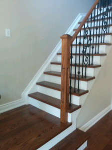 Floor and stairs installation and refinishing