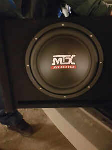 Car Sub woofer with amplifier