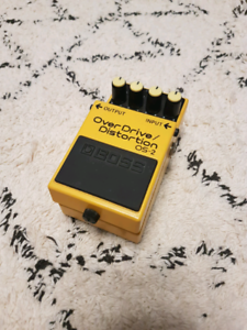 Boss Overdrive/Distortion Effects Pedal