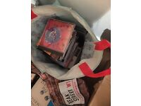 Bag full of CD's for collection