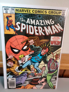 The amazing spiderman 206 high grade