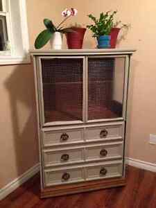 Bird cage (old cabinet)