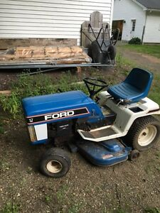 Ford riding tractor lawn mower
