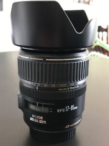 Canon EF-S 17-85mm f/4.0-5.6 IS USM Lens with macro
