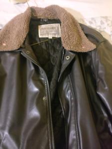 Sawyer of napa brown Leather Jacket