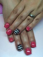 Sculpted Gel Nails by Cassie