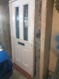 Front door with Frame