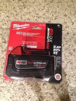 Milwaukee 5.0 battery