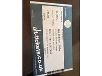 2x Splendour tickets for Saturday 23rd July 2016