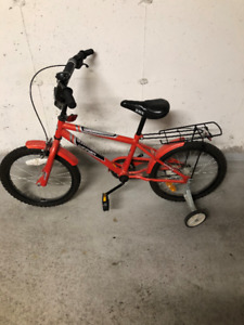 kids bike,needs pedal right side