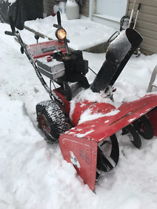 snowblower 10 hp engine 28in