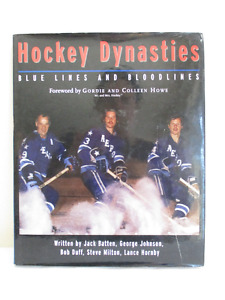 Hockey Dynasties Blue Lines and Bloodlines - Like New