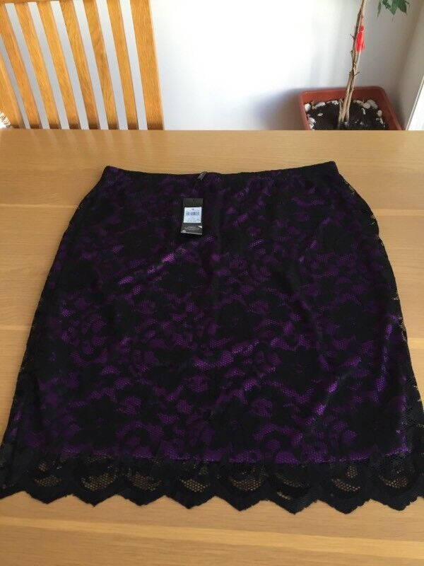 Brand new lace skirt size 16