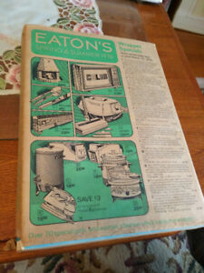 EATON's SPRING and SUMMER, 1976 catalogue, still in wrapper.