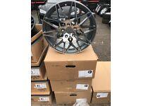 """18"""" alloy wheels Alloys Rims tyre tyres 5x120 bmw 1 2 3 4 series d m sport"""
