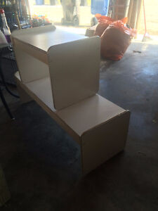 White Coffee/End Table