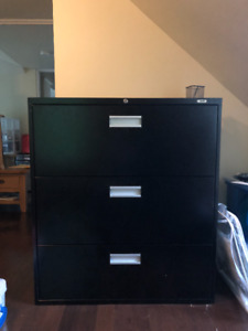 Filing cabinet - 3 door lateral