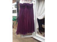 Size 8 & size 10 Cadbury purple bridesmaid dresses £20