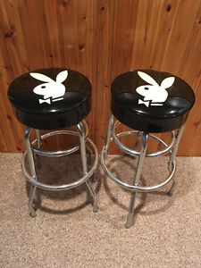 2 Bar stools // Tabourets à bar - Playboy