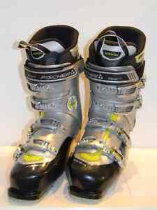 Fischer Soma MX 80 Fit Men's Ski Boots Size 27.5 / 312 mm. Used
