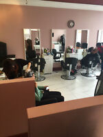 Help wanted at a salon
