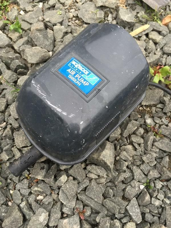 Pond fish tank air pump in falkirk gumtree for Best fish pond pump