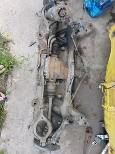 400zx rearsubframe with diff