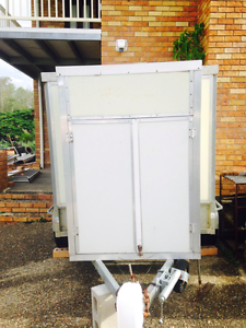 Dual wheel enclosed motorbike trailer Beenleigh Logan Area Preview