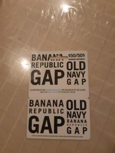 Carte cadeaux Gab 50$