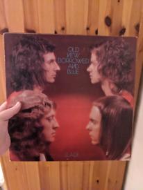 Slade – Old New Borrowed And Blue 2383261 Vinyl Lp Album UK 1974 Pop R