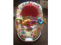 Red Kite baby bouncer