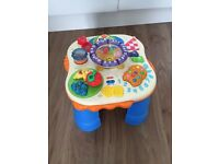 Fisher-Price picnic activity table laugh and learn