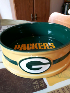 Packers pet bowl