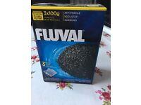 Fish tank filter-----3x100g carbon