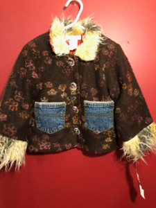 My Vintage Baby Denim Pocket Coat - Size 3T - Brand new!