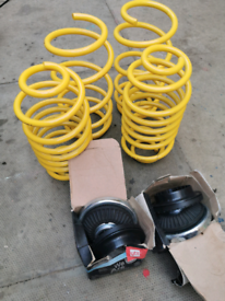 Astra Mk5 lowering springs and top mounts
