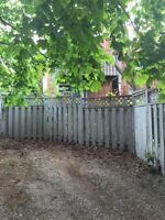Free fencing & deck - updated location!!